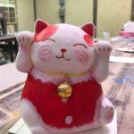 ご利益たっぷり!【招き猫】絵付け体験
